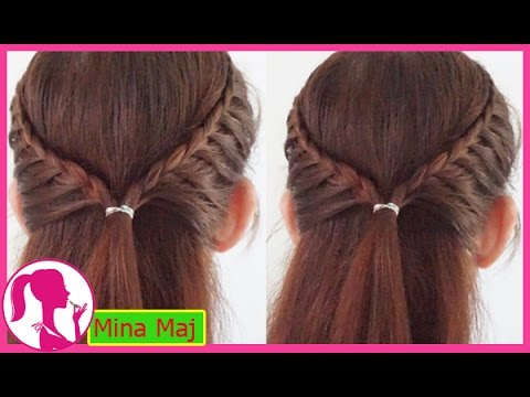 Cute and Easy Hairstyles part 51