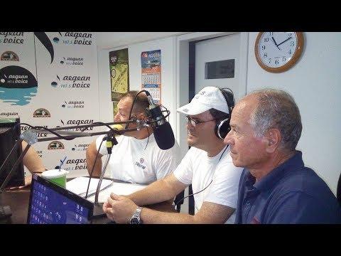 Πολιτική Προστασία και Ραδιοερασιτέχνες μιλούν στην εκπομπή Carpe Diem με το Νικόδημο Λιανό