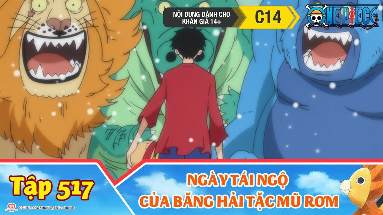 One Piece Best Cut Tập 517: Một Chương Mới Bắt Đầu. Ngày Tái Ngộ Của Băng Hải Tặc Mũ Rơm