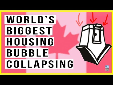 🇨🇦Canada Real Estate Bubble Will POP! Sales Drop 16%, Mortga