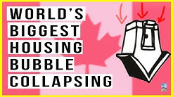 Canada Real Estate Bubble Will POP! Sales Drop 16%, Mortgage Rates Rise, RECORD HIGH Debt!