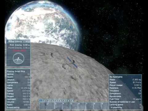 Space Engineers Stable Orbit