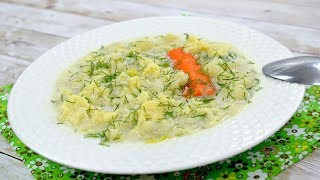 Zupa kalafiorowa z lanym ciastem - Jak zrobić - Smakowite Dania