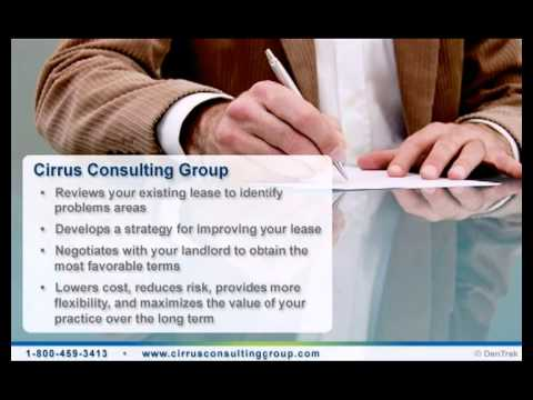 Professional Dental Office Lease Negotiators | Cirrus Consulting Group