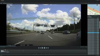 아이나비 QXD7000 주간 후방카메라 영상