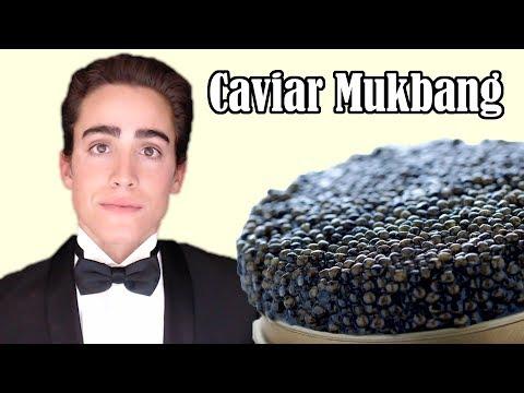 caviar-mukbang