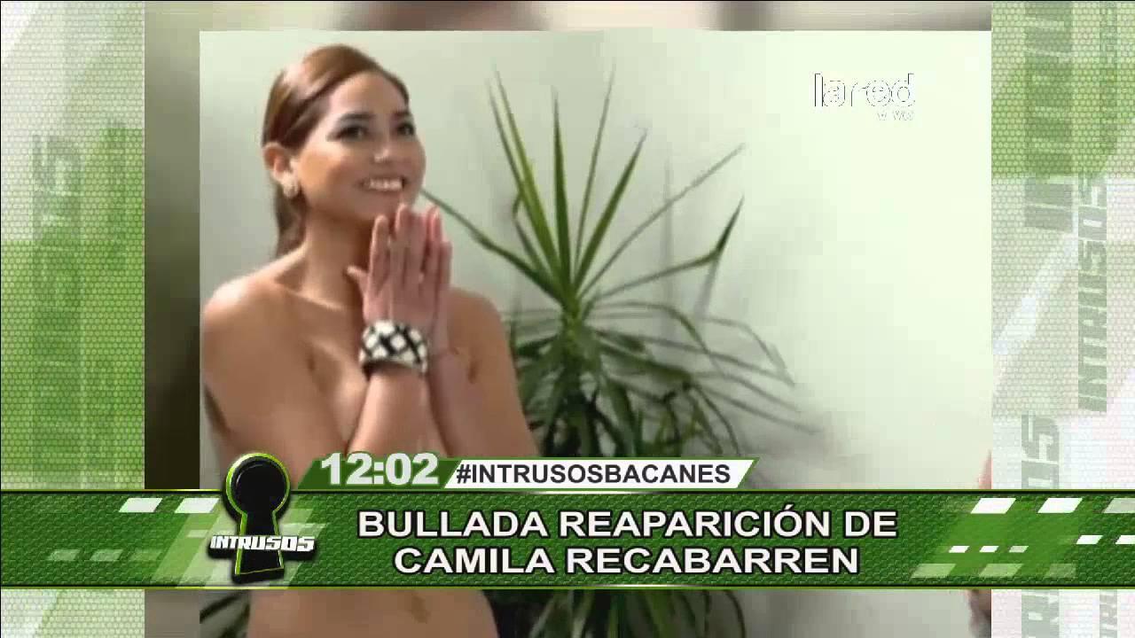 La bullada reaparición de Camila Recabarren en televisión ...