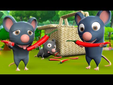 Chuhe Ke Muh Mirchi 3D Animated Hindi Stories for Kids चूहे के मूह मिर्ची कहानी Moral Stories Tales