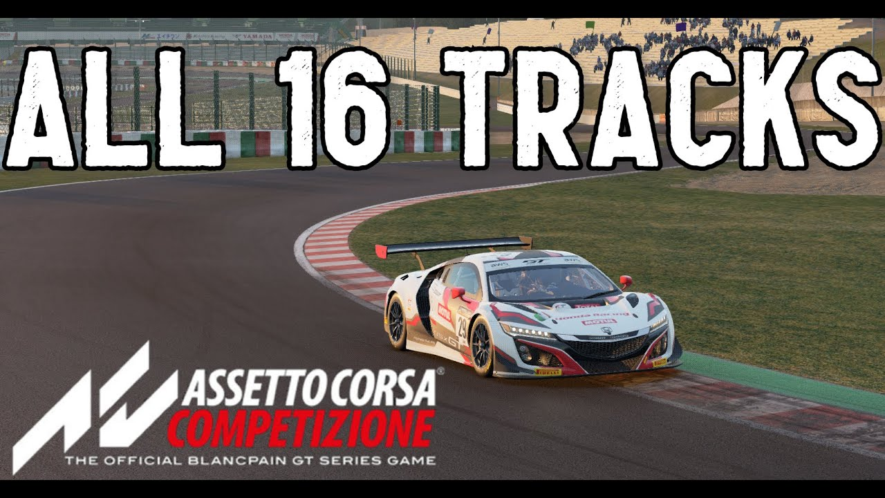 SimRacing604: Assetto Corsa Competizione All Tracks 2021 Edition
