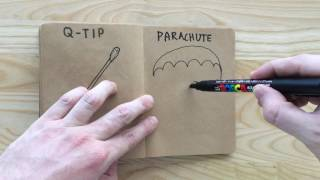 How to Draw a Parachute