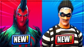 5 NEW SKINS COMING TO FORTNITE! (Fortnite Battle Royale) | Flytrap, Ventura, Scoundrel & MORE!