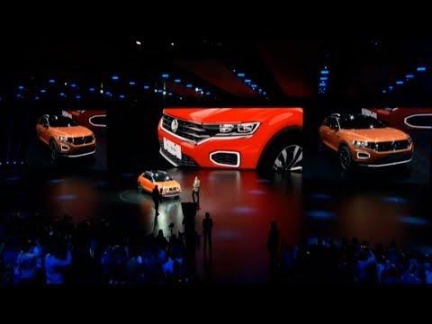 VW T-Rock 2019 Presentation at Beijing 2018