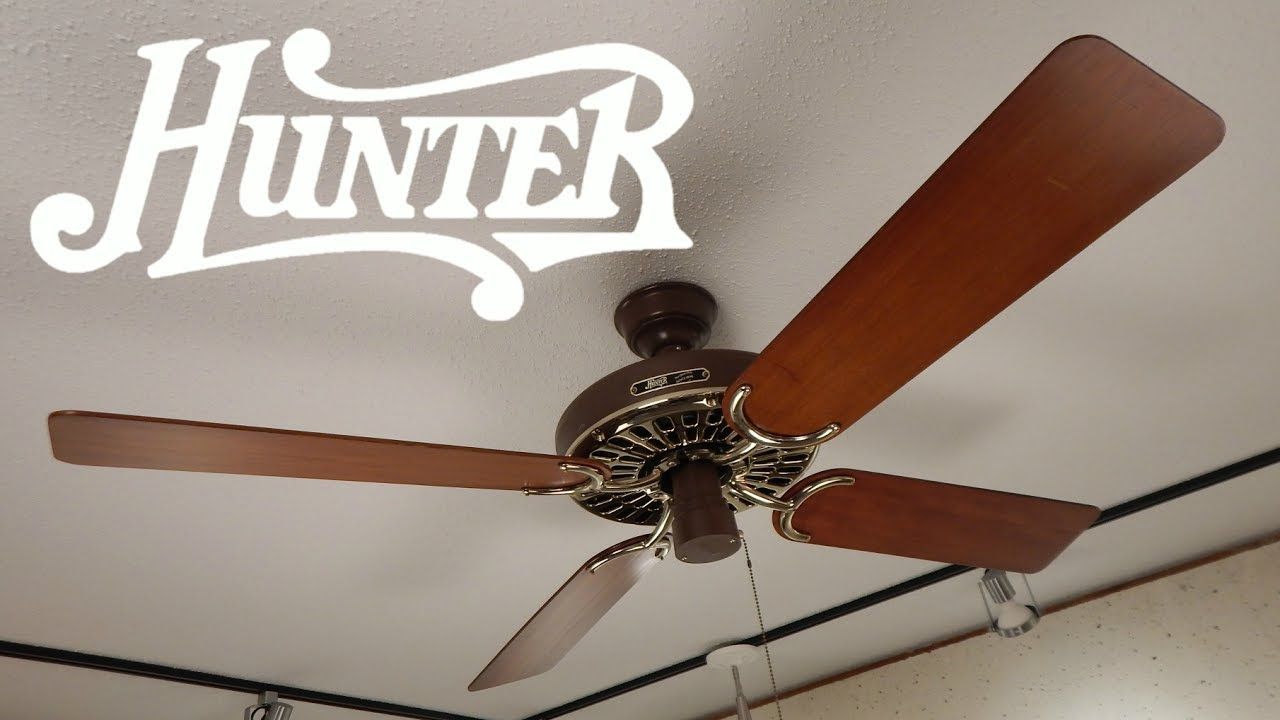 Hunter Original Ceiling Fan 1080p Hd Remake
