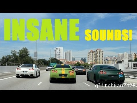 40+ Nissan GTRs Hit The Streets Of Singapore (PART 1)