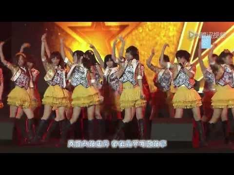 SNH48 《生命之风》 (風は吹いている/Kaze Wa Fuiteiru) LIVE