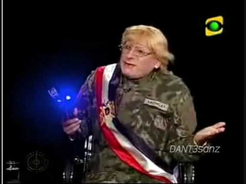 JAIME BAYLY ((HQ)) Carlos Alvarez ( Michelle Bachelet ) 22 Nov. 2009