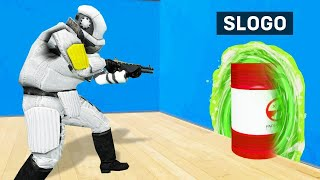 I Caught SLOGO HACKING In GMOD PROP HUNT!