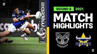 Warriors v Cowboys Match Highlights   Round 8 2021   Telstra Premiership   NRL