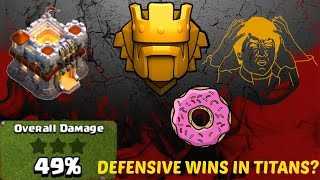 Clash of Clans BEST TROPHY PUSHING/WAR BASE LAYOUT FOR TH11 WITH DEFESIVE WINS IN TITANS LEAGUE