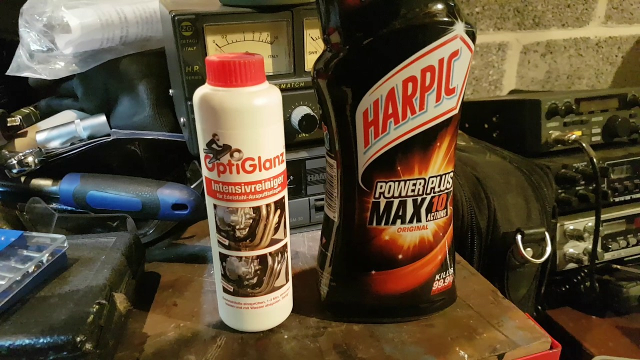 channel update  cleaning exhaust headers  harpic powerplus