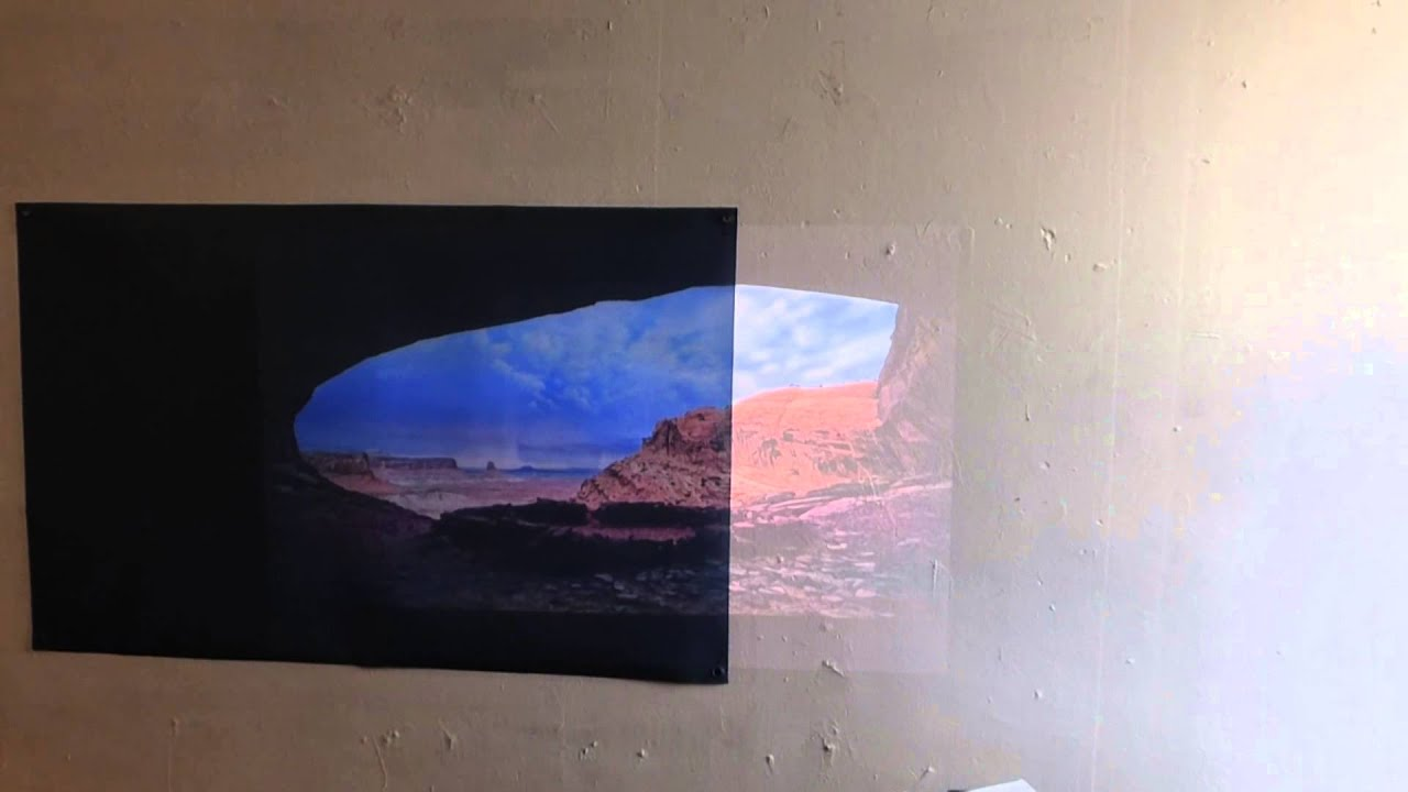 Projector Screen Paint On Wall