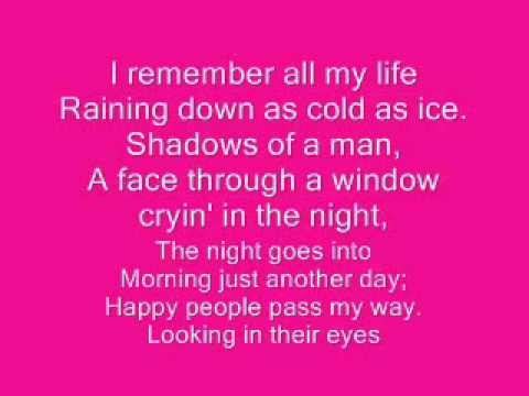 Barry Manilow Mandy-  Lyrics