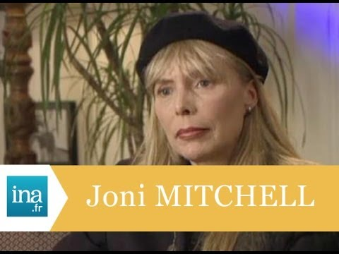 Rencontre avec Joni Mitchell à Los Angeles - Archive INA