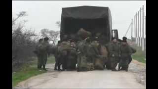 Учения Российской армии, деморализующие Украинскую