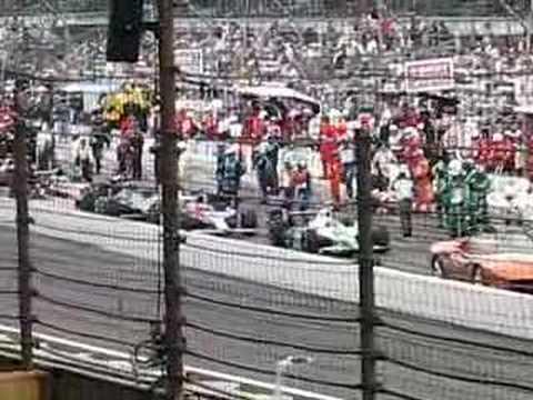 2007 Indy 500 race restart