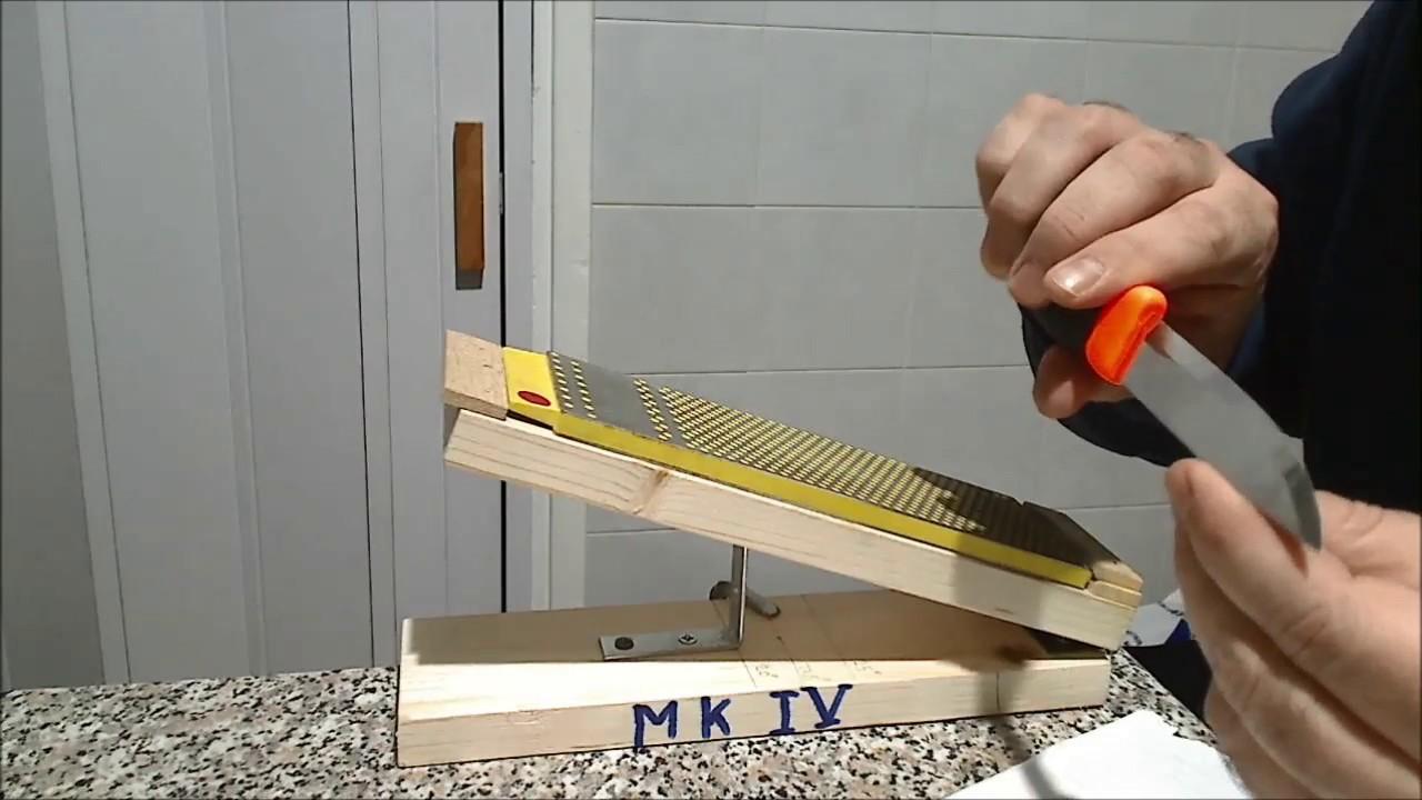 limare coltelli  Supporto per affilatura di coltelli: ITA - YouTube
