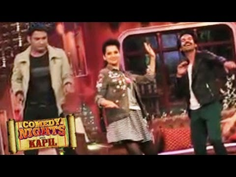Kangana Ranaut in QUEEN SPECIAL Episode on Comedy Nights with Kapil 8th March 2014 FULL EPISODE Travel Video