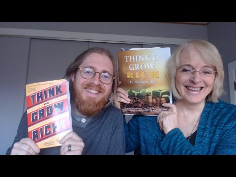 THINK AND GROW RICH by Napoleon Hill (Book Club #2)