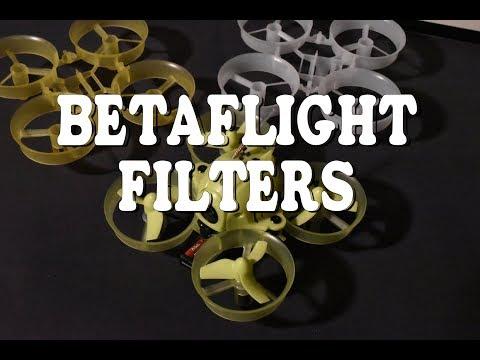 Eachine QX65 - Betaflight filters