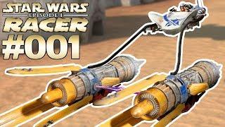 STAR WARS EPISODE 1 RACER #001 Podracer Rennen mit Anakin Skywalker [Deutsch]
