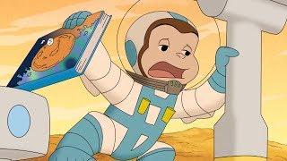 George O Curioso 🐵  O Macaco no Marte 🐵Compilação 🐵 Desenhos Animados em Português