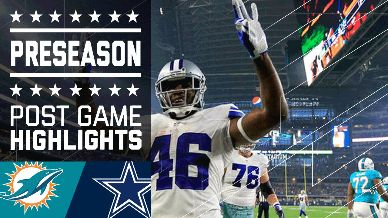 ... Cowboys Game Highlights NFL YouTube. What Channel Is The Cowboys Game