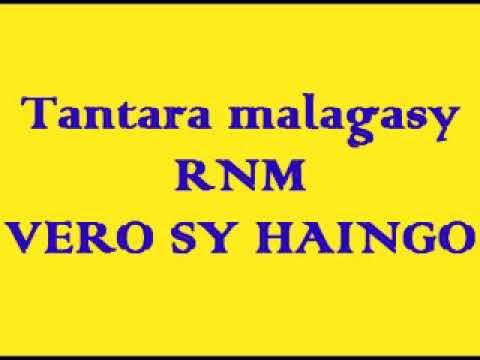 Tantara malagasy RNM - Vero sy Haingo