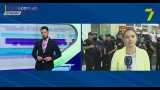 Столкновения на Фонтанской дороге: включение корреспондента 7 канала с места событий