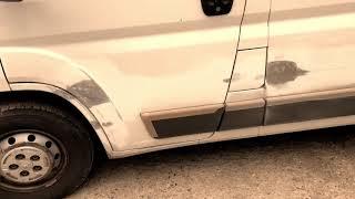 Пежо Боксёр - Покраска по «дешманчику» / Peugeot boxer low cost painting