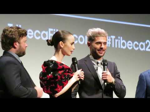 Zac Efron, Lily Collins - Tribeca Film Fest 2019 Q&A -  Extremely Wicked, Shockingly Evil And Vile