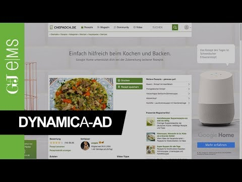 Dynamic A-Ad | Google Home | Rich Media Ad Special | G+J e|MS
