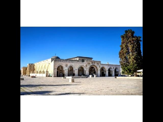Experience Al Masjid Al Aqsa | Hfz Shaakir Bhyat | The Deen Team