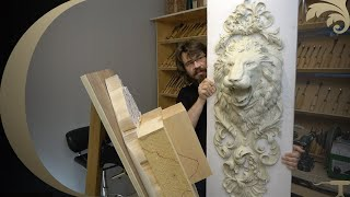 online Woodcarving School -Lion Head onlay course introduction