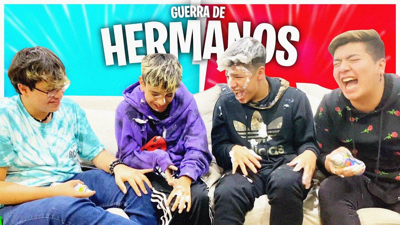 QUIEN CONOCE MÁS A SU HERMANO VS CARLITOS Y GUARURA!😈😱