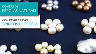 Contas de Pérolas Naturais para Semi Joias - Pedra Mística