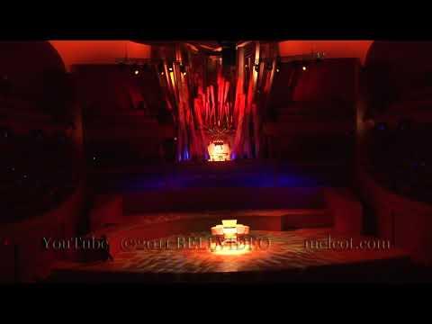 Organist Carol Williams on the Walt Disney Concert Hall Organ
