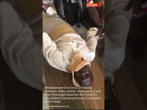 Whistleblower Shehu Mahdi Collapses In Court After Prolonged Detention For Exposing Corruption
