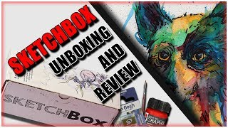 SKETCHBOX Unboxing And Review | Product Testing