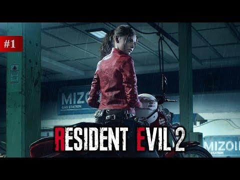 Resident Evil 2 Remake — Прохождение — Новая игра+ — Часть 1 (Клэр)