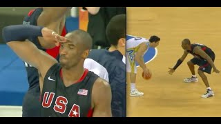 Kobe Bryant - Olympic Highlights 🇺🇸 (Defense)